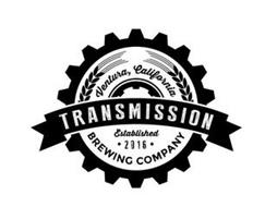 VENTURA, CALIFORNIA TRANSMISSION ESTABLISHED  · 2016 · BREWING COMPANY