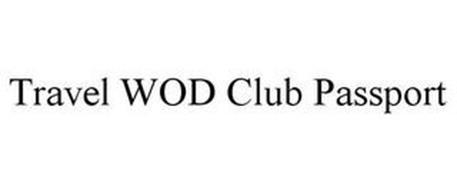 TRAVEL WOD CLUB PASSPORT