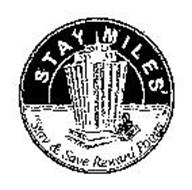 """STAY MILES """"STAY & SAVE REWARD POINTS"""""""