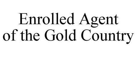 ENROLLED AGENT OF THE GOLD COUNTRY