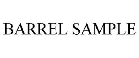 BARREL SAMPLE