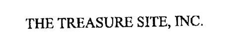 THE TREASURE SITE, INC.