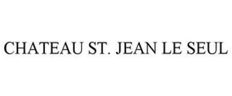 CHATEAU ST. JEAN LE SEUL