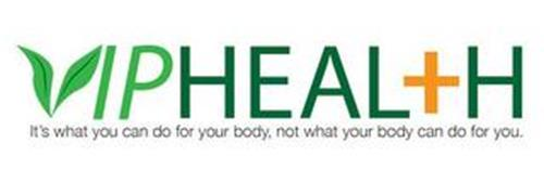 IPHEAL+H IT'S WHAT YOU CAN DO FOR YOUR BODY, NOT WHAT YOUR BODY CAN DO FOR YOU.