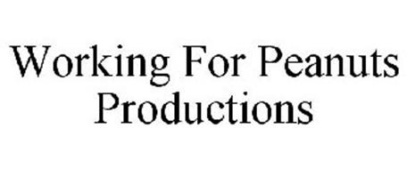 WORKING FOR PEANUTS PRODUCTIONS