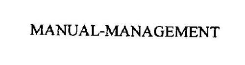 MANUAL-MANAGEMENT