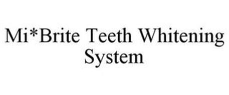 MI*BRITE TEETH WHITENING SYSTEM