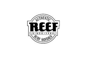 AUTHENTIC REEF SINCE 1984 SURF SANDALS