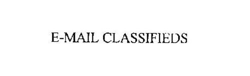 E-MAIL CLASSIFIEDS