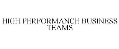 HIGH PERFORMANCE BUSINESS TEAMS