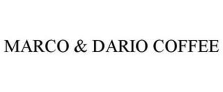 MARCO & DARIO COFFEE