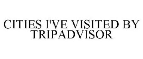 CITIES I'VE VISITED BY TRIPADVISOR