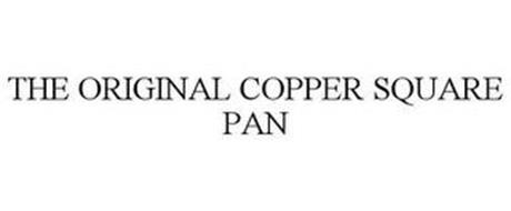 THE ORIGINAL COPPER SQUARE PAN