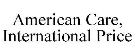 AMERICAN CARE, INTERNATIONAL PRICE