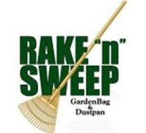 "RAKE ""N"" SWEEP GARDENBAG & DUSTPAN"