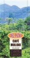 DEL PATIO CAFÉ MOLIDO CAFÉ 100% PURO EL CAFÉ DEL PUEBLO