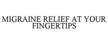 MIGRAINE RELIEF AT YOUR FINGERTIPS