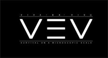 VIVA · EX · VIVO VEV SURVIVAL ON A MICROSCOPIC SCALE