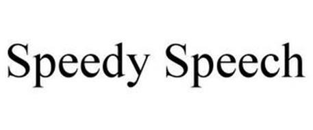 SPEEDY SPEECH