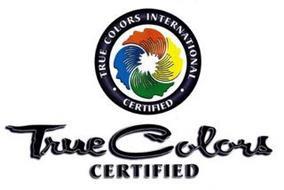 TRUE COLORS INTERNATIONAL CERTIFIED TRUE COLORS CERTIFIED
