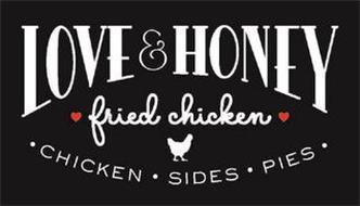 LOVE & HONEY FRIED CHICKEN · CHICKEN · SIDES · PIES ·