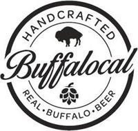 HANDCRAFTED BUFFALOCAL REAL ·  BUFFALO · BEER