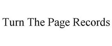 TURN THE PAGE RECORDS