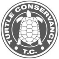 · TURTLE CONSERVANCY · T.C.