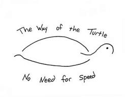 THE WAY OF THE TURTLE NO NEED FOR SPEED