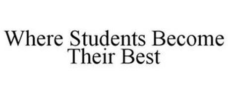 WHERE STUDENTS BECOME THEIR BEST