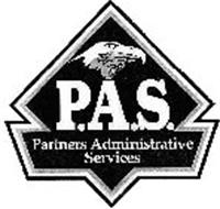 P.A.S. PARTNERS ADMINISTRATIVE SERVICES