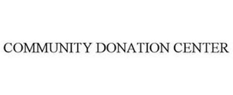COMMUNITY DONATION CENTER