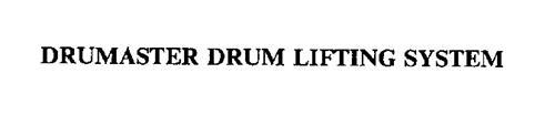 DRUMASTER DRUM LIFTING SYSTEM