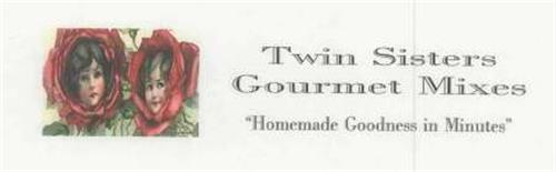 "TWIN SISTERS GOURMET MIXES ""HOMEMADE GOODNESS IN MINUTES"""