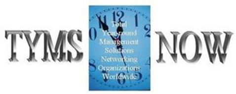 TYMS NOW TOTAL YEAR-ROUND MANAGEMENT SOLUTIONS NETWORKING ORGANIZATIONS WORLDWIDE