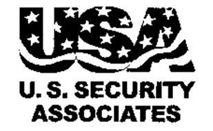 USA U. S. SECURITY ASSOCIATES Trademark of U. S. Security ...