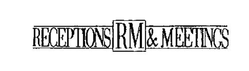 RECEPTIONS RM & MEETINGS