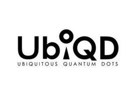 UBIQD UBIQUITOUS QUANTUM DOTS