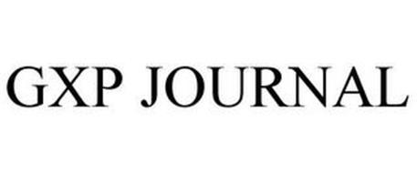 GXP JOURNAL