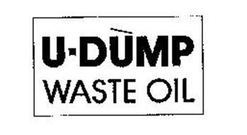 U-DUMP WASTE OIL