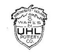 HUNTINGBURG - INDIANA ACORN WARES UHL POTTERY CO.