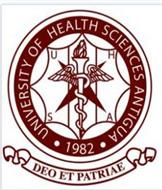 UNIVERSITY OF HEALTH SCIENCES ANTIGUA 1982 UHSA DEO ET PATRIAE