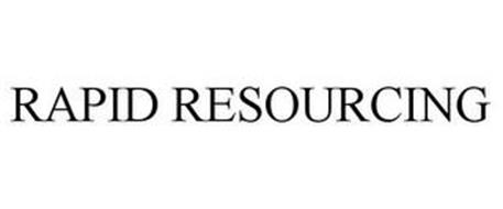 RAPID RESOURCING