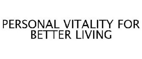 PERSONAL VITALITY FOR BETTER LIVING