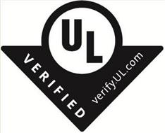 UL VERIFIED VERIFY.UL.COM
