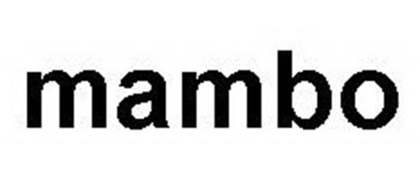 mambo trademark of ulrich gmbh co kg serial number. Black Bedroom Furniture Sets. Home Design Ideas