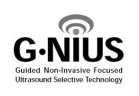 G·NIUS GUIDED NON-INVASIVE FOCUSED ULTRASOUND SELECTIVE TECHNOLOGY