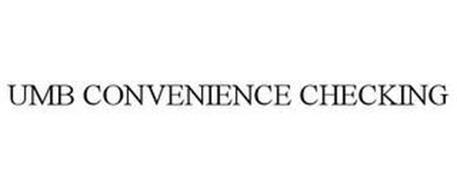UMB CONVENIENCE CHECKING