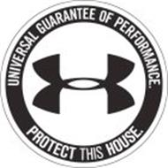 UA UNIVERSAL GUARANTEE OF PERFORMANCE. PROTECT THIS HOUSE ...Under Armour Wallpaper Protect This House