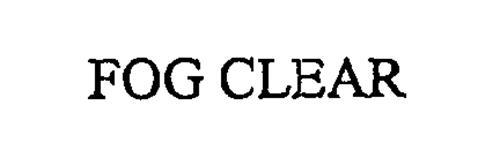 FOG CLEAR